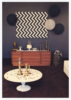 "love using fabric or rugs for backdrop for shine ""interest spots"" if it goes with final decision on ""the look""!"