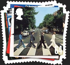 Fans of Lennon, Harrison, McCartney and Starr will be overjoyed with the world's largest passenger ship to set sail with a Beatles tribute Cruise. Royal Mail Stamps, Uk Stamps, Postage Stamps, Abbey Road, Great Britan, Milan, Beatles Albums, Music Genius, Set Sail