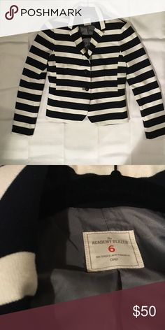Blazer Beautiful black and white collared blazer. Practically brand new. No Imperfections/snags GAP Jackets & Coats Blazers