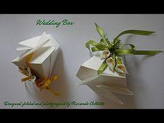 Origami Wedding Box designed by Riccardo Colletto