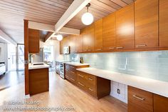 ikea kitchen remodel in an eichler townhouse