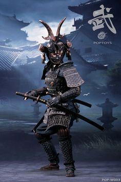 POPTOYS The butterfly helmets female Warriors - & Abc Warriors, Female Warriors, Kabuto Samurai, 47 Ronin, Black Armor, Fantasy Female Warrior, Samurai Artwork, Ghost Of Tsushima, Shoulder Armor