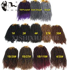 "Cheap braiding hair, Buy Quality freetress crochet directly from China crochet braid hair Suppliers: 2016 New Arrival Water Wave Synthetic Freetress Crochet Braiding Hair 10"" Curly Hair Weaves Freetress Curly Crochet Hair"