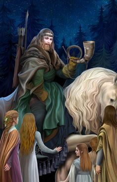 Oromë by Steamey. He was a Huntsman of the Valar, the brother of Nessa and one of the eight Aratar. Oromë's spouse was Vána. Jrr Tolkien, Cristo Vivo, Middle Earth Books, O Silmarillion, Elf Man, Morgoth, Glorfindel, I Love You Drawings, Under The Shadow