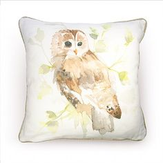 Country Cushion - Owl   Gifts & Gadgets   Qwerkity   £22.99