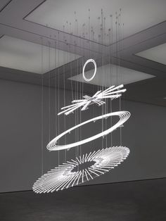 Cerith Wyn Evans The Illuminating Gas… (after Oculist Witnesses), 2015