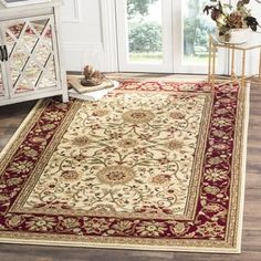 Shop for Safavieh Lyndhurst Traditional Oriental Ivory/ Red Rug (6' x 9'). Get free shipping at Overstock.com - Your Online Home Decor Outlet Store! Get 5% in rewards with Club O!