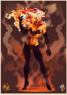Dark Phoenix by ~MaximoPark on deviantART