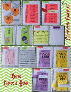 KINDERGARTEN MATH INTERACTIVE NOTEBOOK BUNDLE- ACTIVITIES FOR YOUNG MATH MINDS - TeachersPayTeachers.com