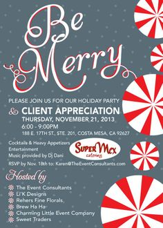 Company Holiday Party Invitations http://li-kdesigns.com/?page_id=34