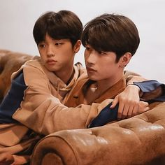 dongpyo and seungwoo Korean Boys Ulzzang, Ulzzang Boy, Ulzzang Couple, Daddy's Little Boy, Daddy And Son, Gay Aesthetic, Kids Icon, Asian Babies, Cute Gay Couples