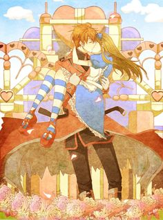Ace et Alice, anime and manga art Alice Anime, Anime Fairy, Manga Art, Manga Anime, Alice In Wonderland Fanart, Alice Liddell, Alice Madness, Adventures In Wonderland, Disney Pictures