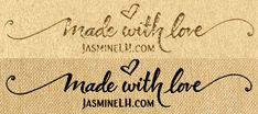 Everything I make is made with love. <3 —Jasmine LH