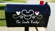 Disney mailbox