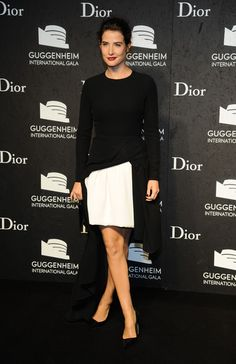 Cobie Smulders - Arrivals at the Guggenheim International Gala