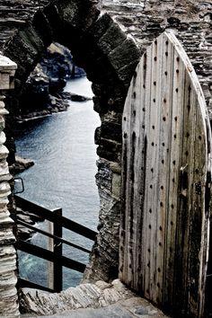 Tintagel Castle Door. | Beautiful Castle 's | Pinterest