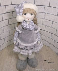 When a Doll Is Made on Your Own: Step-by-Step Guide – tutorial for beginners and professionals Preschool Christmas, Christmas Gnome, Christmas Projects, Handmade Christmas, Yarn Dolls, Sock Dolls, Felt Dolls, Barbie Dolls Diy, Diy Doll