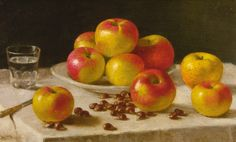 'APPLES ON A TABLE' by John F. Francis (1808-1886) - Sotheby's