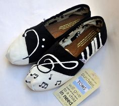 Music Note TOMS.... I just really want a pair!