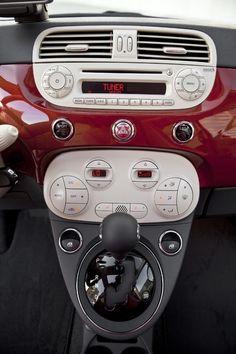 Love the Fiat interior