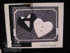 Stampin Up Wedding cards