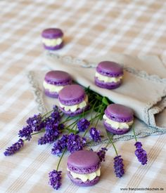 Lavendel Macarons