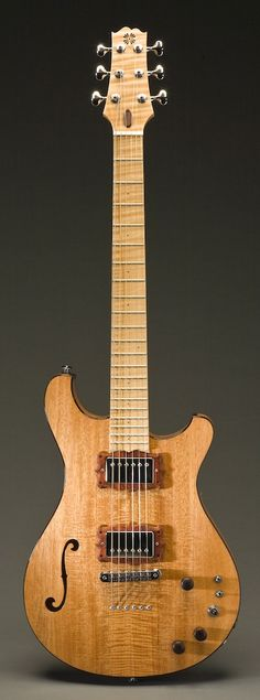 Semi Hollow   Scott Walker Guitars