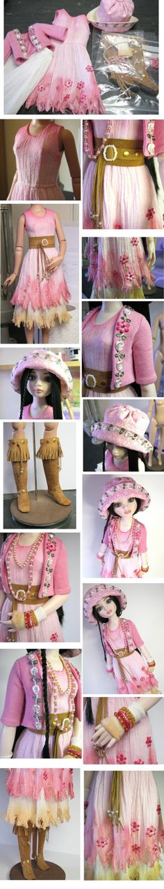 Ellowyne Wilde Tonner OOAK doll outfit TATTERS sewn by hand.. £95.00, via Etsy.