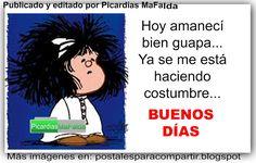 Mundo de Postales: BUENOS DÍAS...