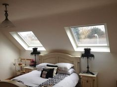Have a look at our gallery where you can see photos of different types of loft conversions, they may give you some inspiration for your own loft conversion Loft Conversion Ensuite, Dormer Loft Conversion, Loft Conversions, Attic Bedroom Designs, Attic Bedrooms, Master Bedroom, Loft Room, Extra Rooms, Home Reno