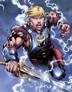 DC-Comics apresenta novo visual de He-Man, com uma nova armadura e novo rosto. Veja como ficou!
