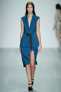 London Fashion Week Day 3 Marios Schwab Spring/Summer 2015  Ready to wear  14 September 2014
