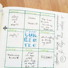 Throwback Thursday to Sep 4, 2014 in my first Bullet Journal. I was inspired by those 'currently' things common in scrapbooks so I gave a try at making my own with boxes with Staedtler pens. Back in the day when I used FriXion pens because I was still easing into using pens from a lifelong love affair with pencils. I think my handwriting has improved a tad since then  #bulletjournal