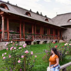 At Voroneț Monastery . Flowers Garden, Travel Pictures, Romania, Roses, Cabin, House Styles, Instagram, Decor, Travel Photos