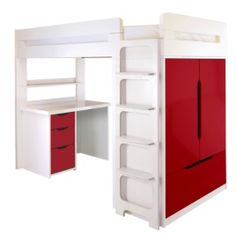 Farringdon High Sleeper With Desk Lil Places Pinterest
