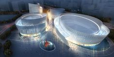 Chengdu Tianfu Cultural and Performance Centre. Fuksas Architects