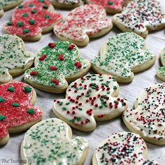 """Soft, Sour Cream Sugar Cookies...blog says, """"This is the best sugar cookie recipe ever. In my humble opinion. Cut-out cookies are popular for every occasion. All you need is this recipe and a collection of cookie cutters."""""""