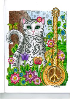 musical cat from creative cats