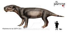 Aloposaurus  sp by Theropsida.deviantart.com on @DeviantArt