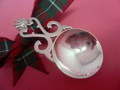 Sterling Silver Caddy Spoon Tea Scottish With by DartSilverLtd, £125.00