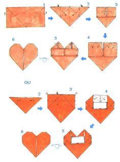 Hojas de Arte - ORIGAMI - Diagramas de Plegado