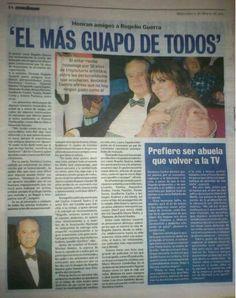 """""""El Mas Guapo De Todos"""" - #VeronicaCastro [Periódico Ovaciones"""""""