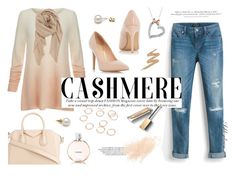 """""""Cozy Cashmere Sweater"""" by ashleydawn2 ❤ liked on Polyvore featuring Joie, White House Black Market, Dorothy Perkins, H&M, Givenchy, BP., Disney, Urban Decay, Chanel and Burberry"""