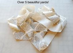 Tutorial: 5 yards of bias tape from 1 fat quarter