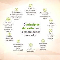 10 principios del éxito #emprender #motivacion #emprendedores