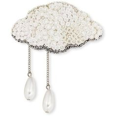 Forest Of Chintz Silver Lining Brooch