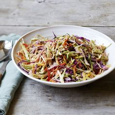 Coleslaw gets a makeover: it's lighter, brighter, and just spicy enough to keep it interesting. - Visit PaneraBread.com for more inspiration.