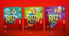 Cowan. Ritz crackers. Photoshop render. Reflection. Red environment.