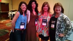With an incredibly talented group of fellow Amazon Publishing authors: Melinda Leigh, Anna DeStefano, and Kathleen Long. (RWA conference, 2015, NYC)