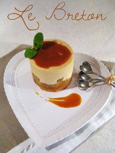 Le Breton - biscuit sablé breton pépites de chocolat compotée de pommes et une mousse caramel salé - J'en reprendrai bien un bout...Blog